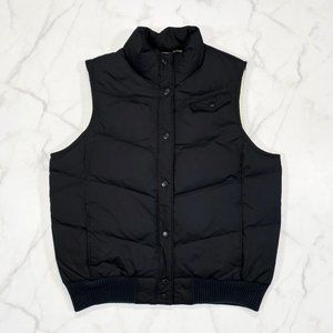 GAP Down Fill Snap Button Quilted Puffer Vest